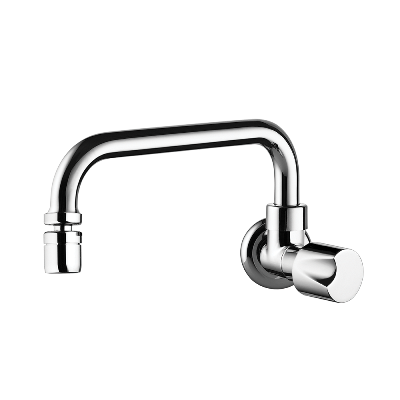 "Wall Kitchen Faucet - Mobile Spout ""U"""