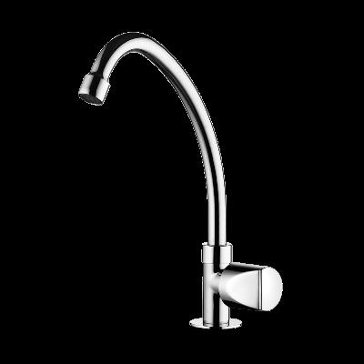 Kitchen deck mount Faucet - Movable spout