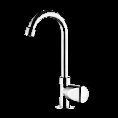 Deck mount Lavatory Faucet - High Spout