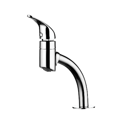 Deck mount Lavatory Faucet - High Spout