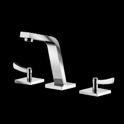 Deck mount Lavatory Mixer - High Spout