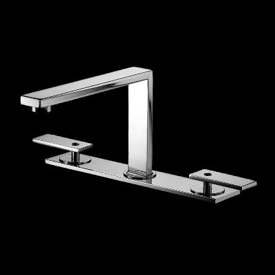 Deck mount Lavatory Mixer - High