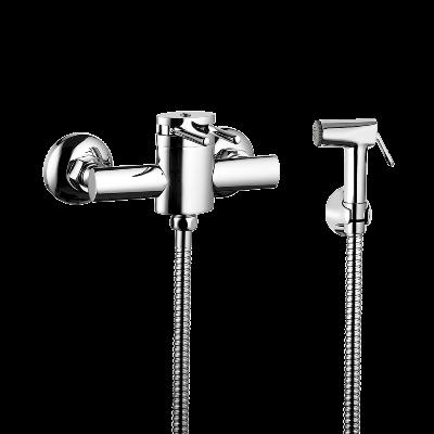 Misturador Ducha Higiênica - Flexível de 1,20m - Gatilho em Metal