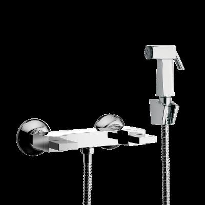 Mezclador ducha higienica en metal