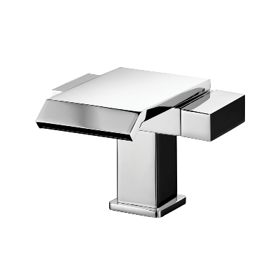 Lavatory MonoblocMixer Deck Mount – Waterfall spout