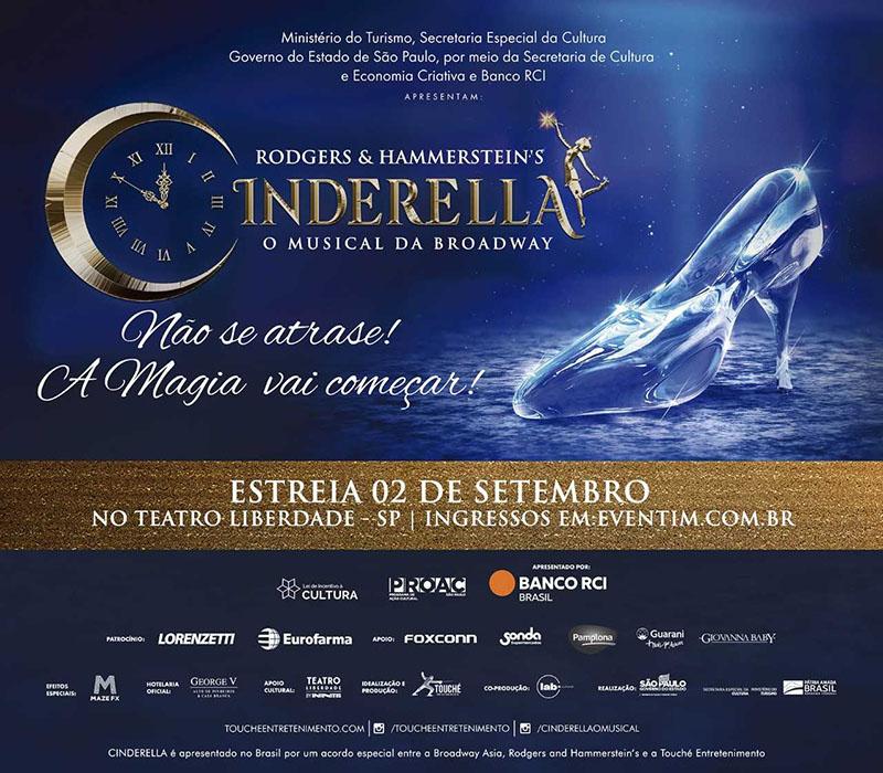 CINDERELLA - O MUSICAL